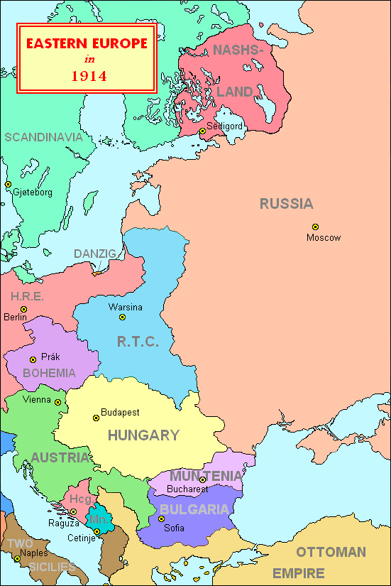 Eastern europe in ill bethisad before the outbreak of the first great war eastern europe gumiabroncs