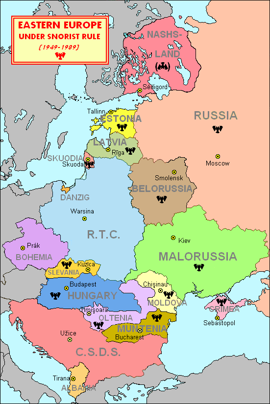 Eastern Europe In Ill Bethisad: Map Of Europe Before 1989 At Infoasik.co